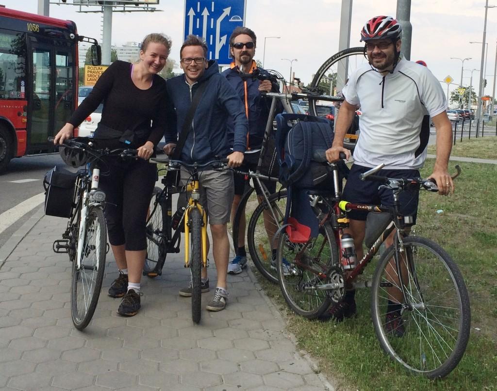 Profesia na bicykli team