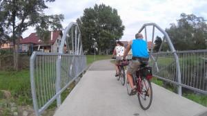 Cyklochodník od Věstonickej nádrže k Brnu je ozaj pekný.