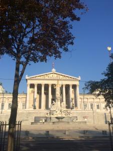 Eurovelo 9 prechádza centrom Viedne a je to zážitok.