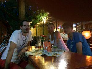Večerný oddych v Révfülöp po ťažkom dni