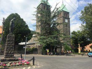 Pekný kostol, ktorý sme náhodou našli pri cykloceste.
