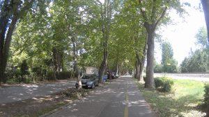 Cykchodník okolo celého Balatonu je výborne značený