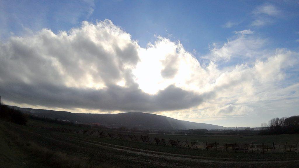 Nebo nad Dúbravkou